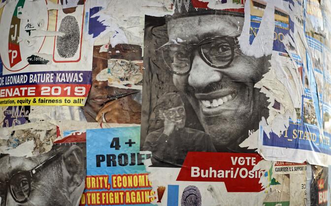 Valimisplakatid Nigeerias.