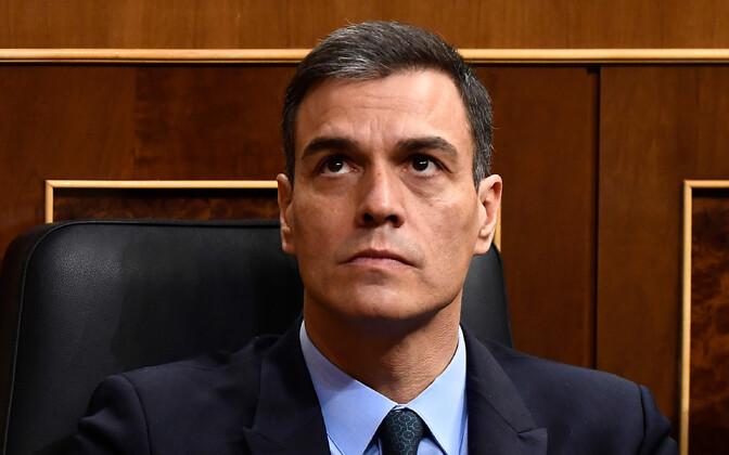 Hispaania peaminister Pedro Sánchez.