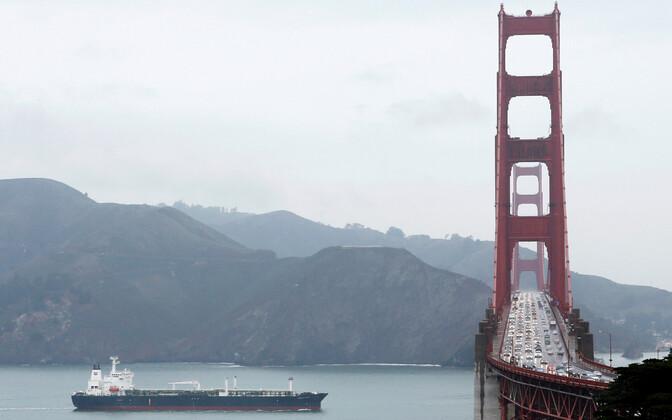 Golden Gate'i sild San Franciscos.