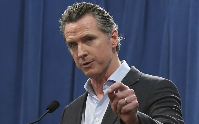 California kuberner Gavin Newsom.