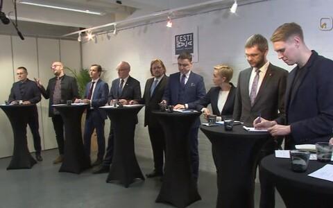 Parteide debatt Helsingis.