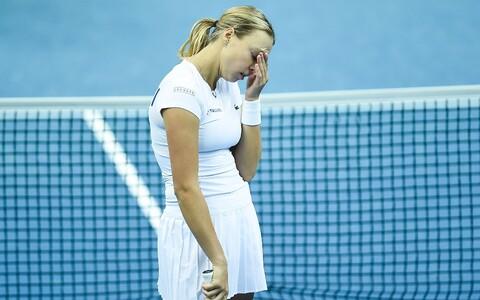 Анетт Контавейт признала превосходство соперницы.