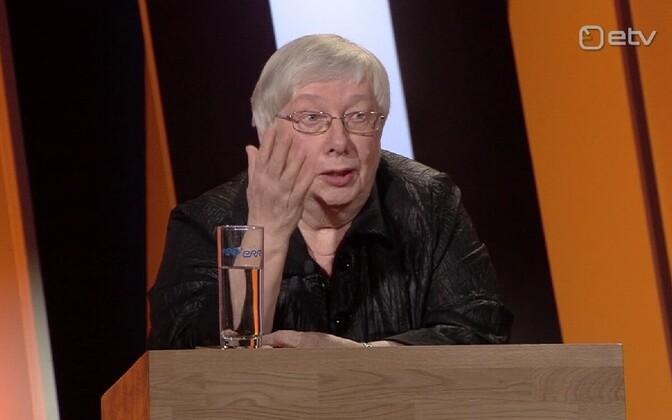 Марью Лауристин обозначила четкую позицию.