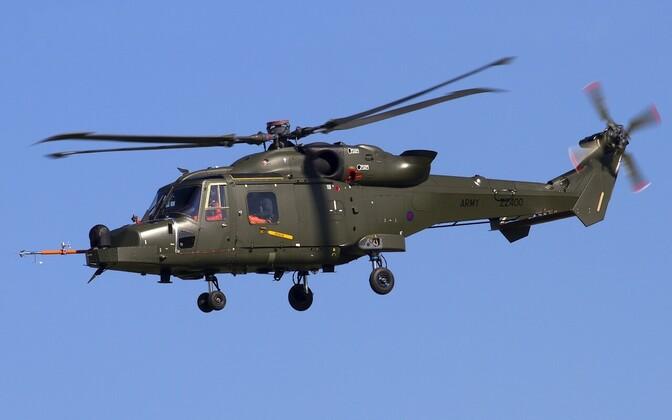 Briti armee helikopter AgustaWestland AW159 Wildcat.