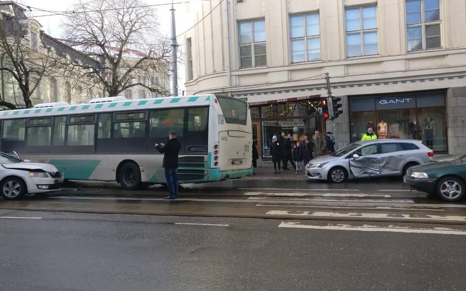 ДТП в центре Таллинна