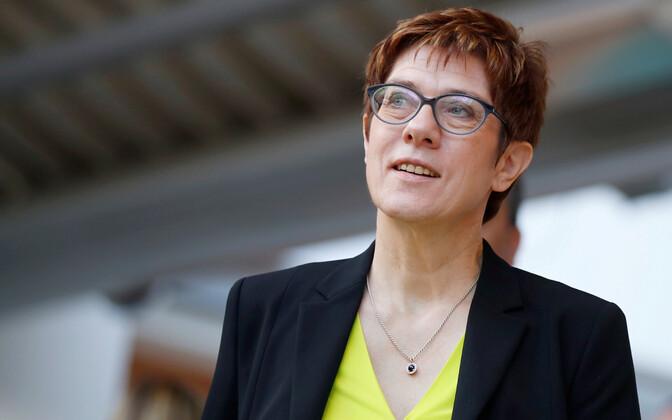 CDU juht Annegret Kramp-Karrenbauer.