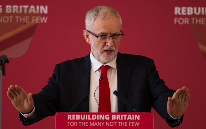 Briti Tööpartei esimees Jeremy Corbyn.