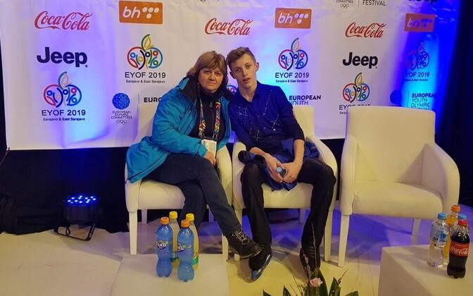 Ирина Кононова и Михаил Селевко.