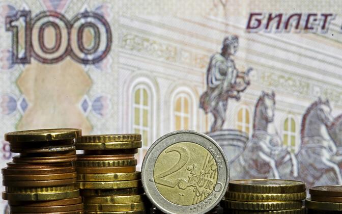Eurod ja rublad.