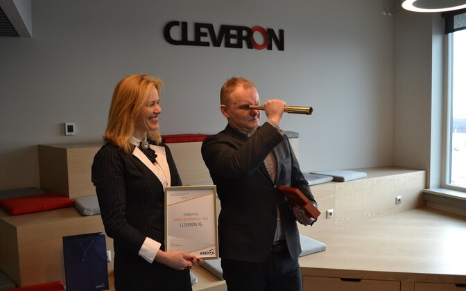 Компанию Cleveron назвали лучшим экспортером 2018 года.