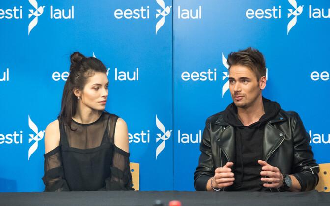 Eesti Laulu finalistide pressikonverentsid, Uku Suviste
