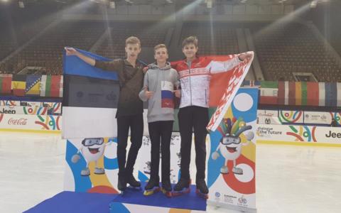 Mihhail Selevko (vasakul) võitis Eesti koondisele ainsa sportlasena medali