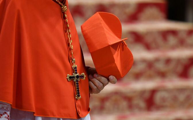 Rooma-katoliku kardinal Vatikanis, arhiivifoto.