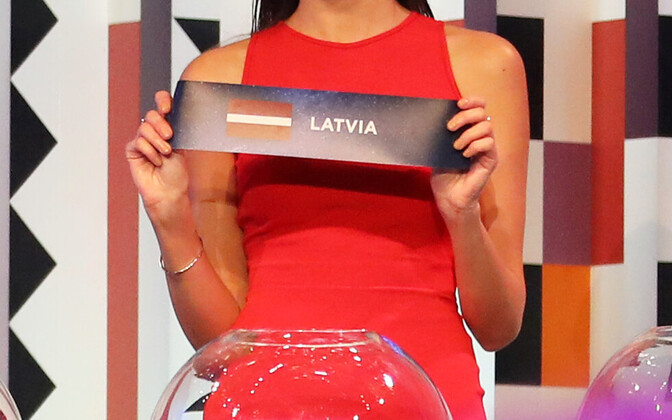 Представитель Латвии будет выступать во втором полуфинале
