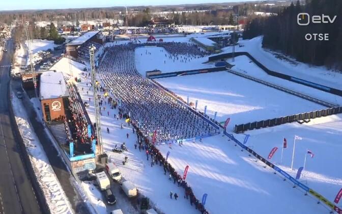 46. Tartu maratoni start
