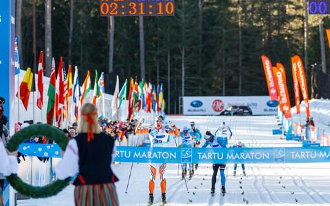 46. Tartu maratoni võitis soomlane Niko Koskela.