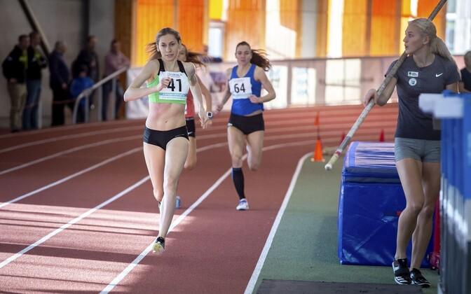 Kolm kuldmedalit võitnud Helin Meier