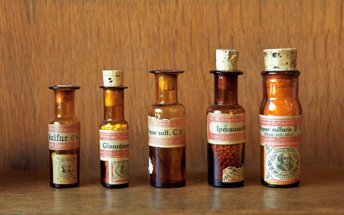 Homöopaatilised ravimid.