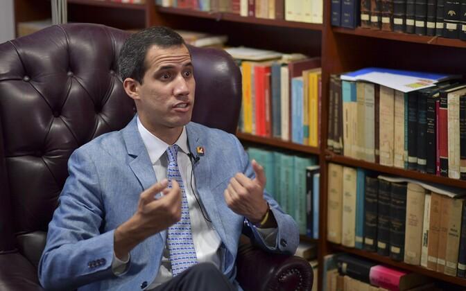 Представители Европарламента собирались встретиться с лидер оппозиции Венесуэлы Хуаном Гуайдо.