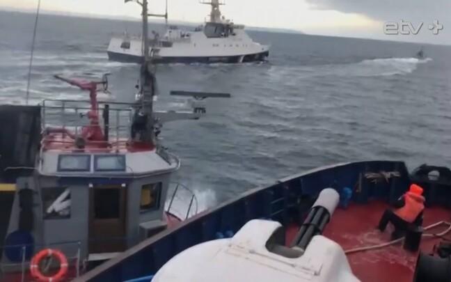 Инцидент в Керченском проливе произошел 25 ноября 2018 года.