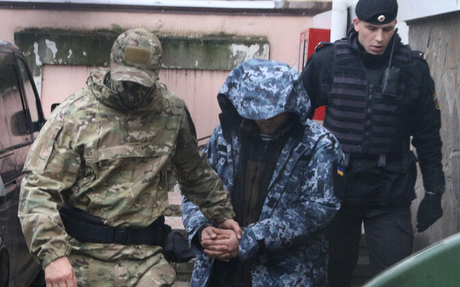 Один из задержанных в Керченском проливе украинских моряков.