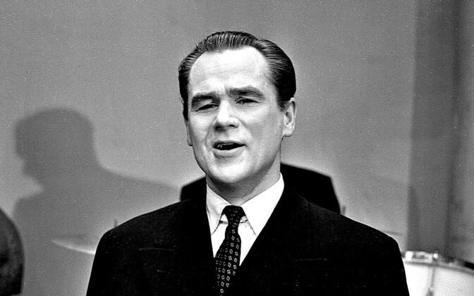 Георг Отс. 1957 год.