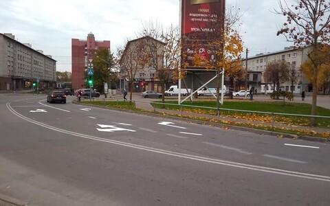 Перекресток Таллиннское шоссе-Энергия-Рахвавялья.