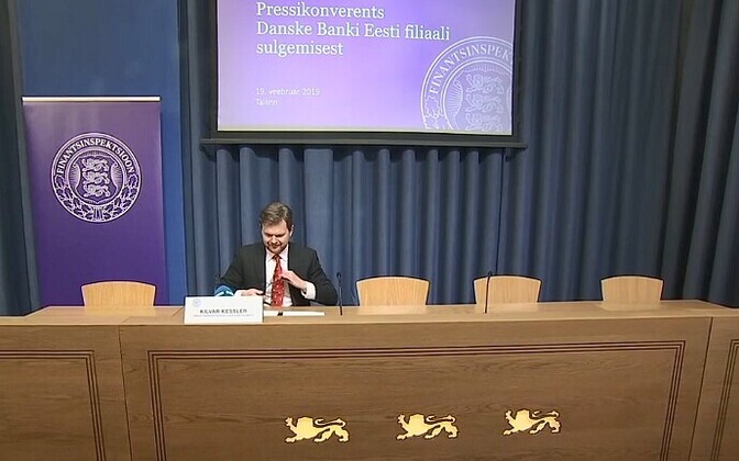 Estonian FSA (Finantsinspektioon) head Kilvar Kessler.