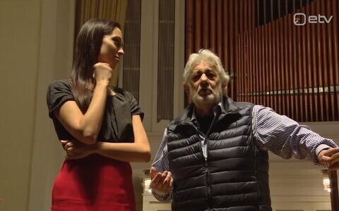 Elina Nechayeva ja Placido Domingo