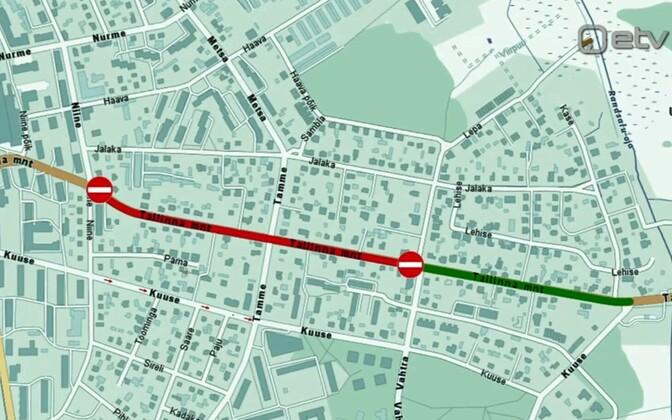 Haapsalu linn sai raha Tallinna maantee rekonstrueerimiseks.