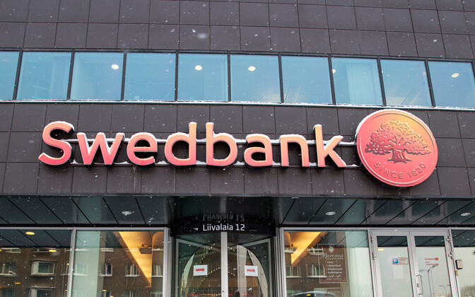 A Swedbank branch in Tallinn.