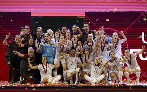 Hispaania naiste saalijalgpallikoondis