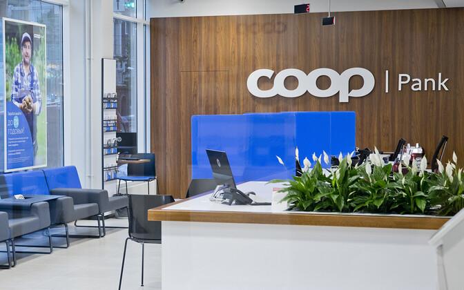 Coop Pank branch.