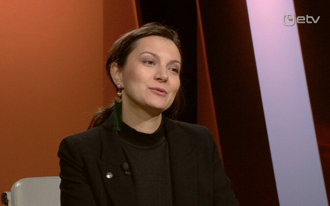 Green Party leader Züleyxa Izmailova.