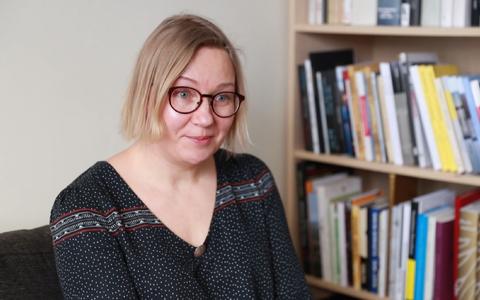 Illustraator ja pildiraamatu autor Kertu Sillaste.
