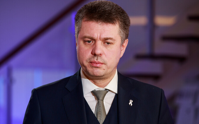 Justice minister Urmas Reinsalu (Isamaa).