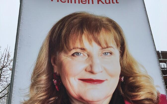 Плакат с изображением Хельмен Кютт.