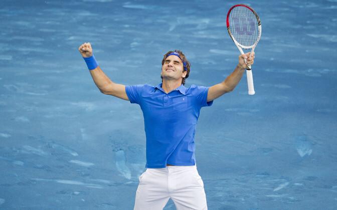 Roger Federer Madridi tenniseturniiril 2012. aastal