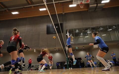 Eesti naiste võrkpalli meistrivõistlused: Tallinna Ülikool - TÜ/Bigbank