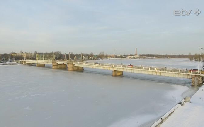 Центральный мост в Пярну готовят к капитальной реконструкции