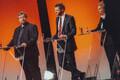 Олев-Андрес Тинн (Зеленые Эстонии), Евгений Осиновский (Социал-демократическая партия) и Керсти Крахт (EKRE).