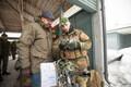 Peaminister Charles Michel kohtus Eestis teenivate Belgia sõduritega.