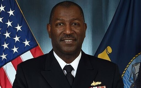 Rear Admiral Stephen C. Evans, US Navy.