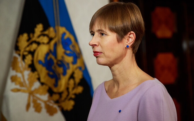 President of the Estonian Republic Kersti Kaljulaid.
