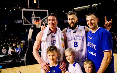 Kristjan Kangur, Janar Talts ja Gregor Arbet koondisekarjääri viimase mängu järel