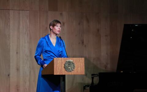 Керсти Кальюлайд провела торжественную церемонию вручения государственных наград