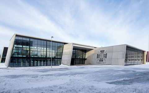 The new  Academy of Security Sciences building in Tallinn.