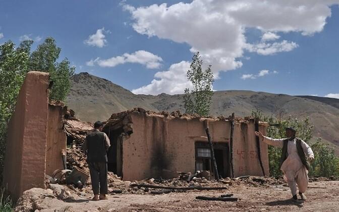Дом в Афганистане. Иллюстративная фотография.