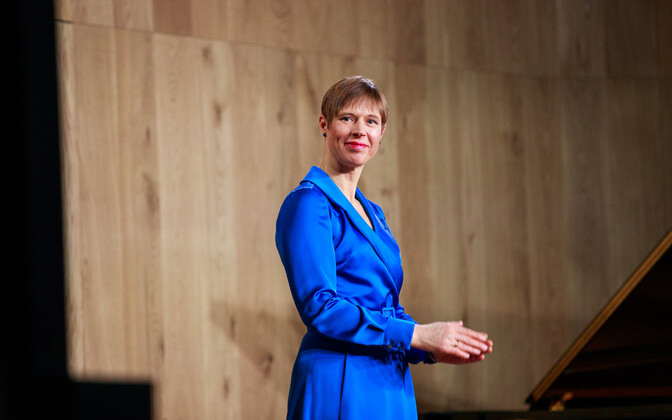 President Kersti Kaljulaid will meet with the political party chairs at Kadriorg on Wednesday.