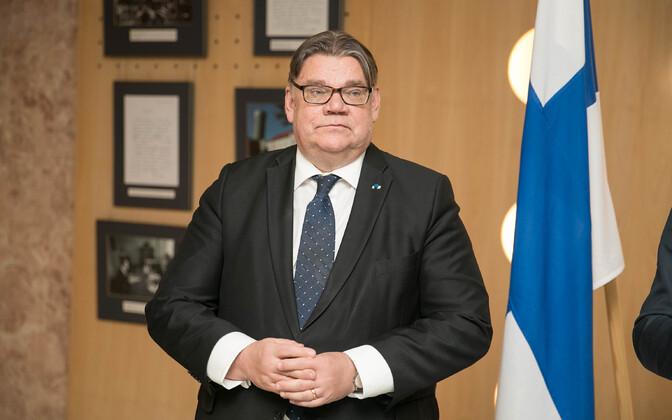 Timo Soini Tallinnas